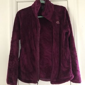 Women's North Face Osito Jacket in Plum
